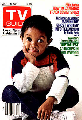 TV Guide (Jan. 14-20, 1984 / Emmanuel Lewis