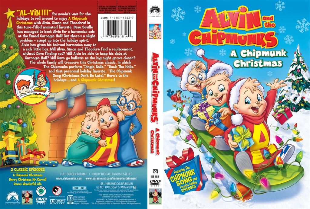 Alvin & the Chipmunks: A Chipmunk Christmas and 2 other Xmas ...