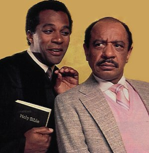 Clifton Davis and Sherman Hemsley