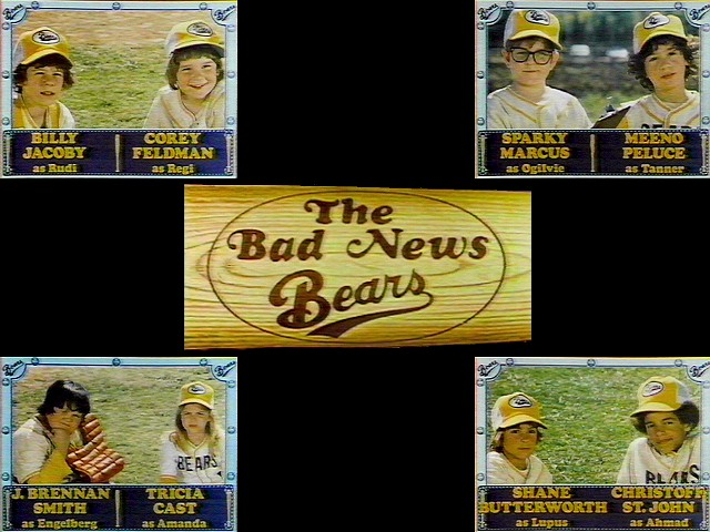 The Bad News Bears sitcom cast