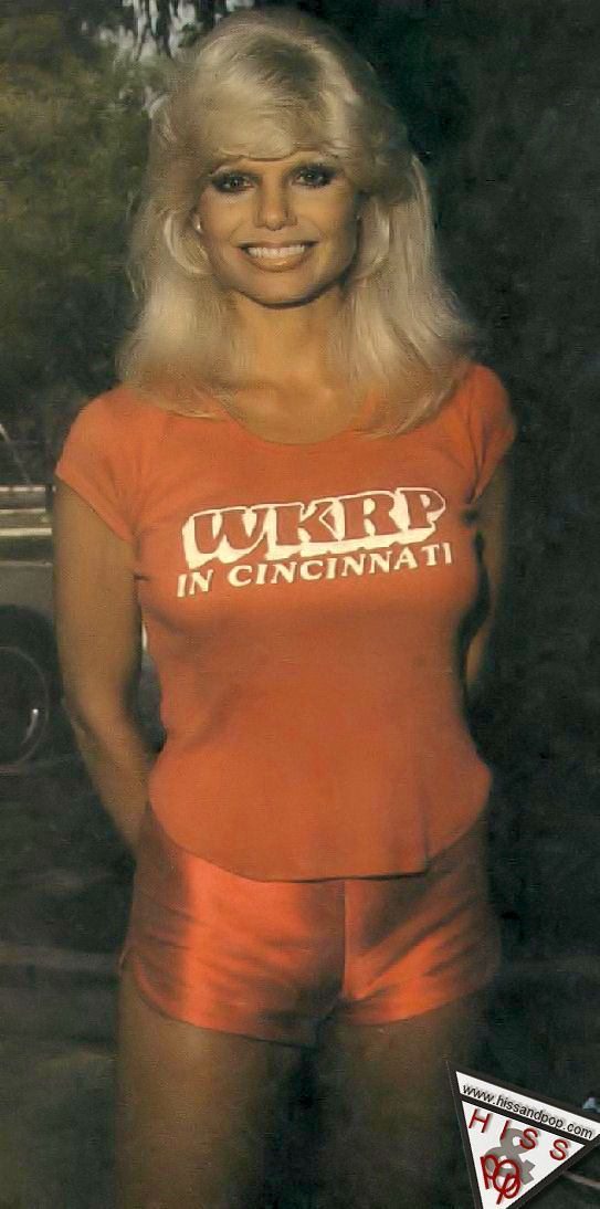 Image result for hot lonnie anderson wkrp