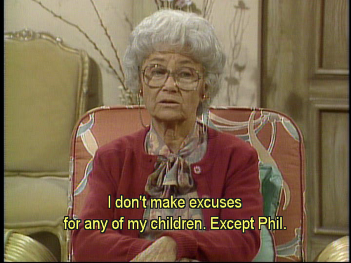 Your Favorite Sophia Quotes Page 3 Sitcoms Online Message Boards