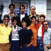 Happy Days cast postcard (1980's)