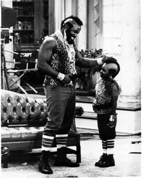 Mr. T and Gary Coleman