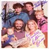 Family Ties autographed cast photo