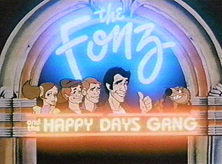 The Fonz and the Happy Days Gang opening title