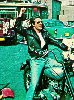 Fonz on motorcycle at Arnold's