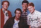 Happy Days- 4 guys autograph