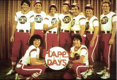 Happy Days All-Star softball team