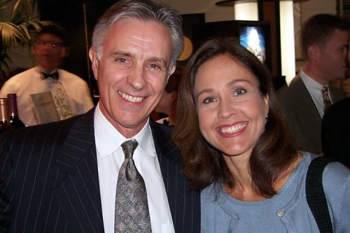 Joel Higgins and Erin Gray (fall 1999)