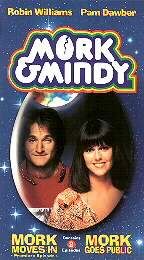 Mork Moves In and Mork Goes Public (VHS)