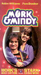 Mork's Mixed Emotions and Stark Raving Mork (VHS)