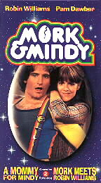 A Mommy For Mindy and Mork Meets Robin Williams (VHS)