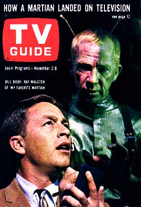 Bill Bixby and Ray Walston in My Favorite Martian (TV Guide)