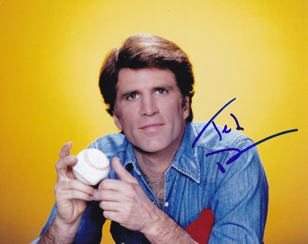 TED_DANSON_signed_autographed_CHEERS_SAM_MALONE_photo
