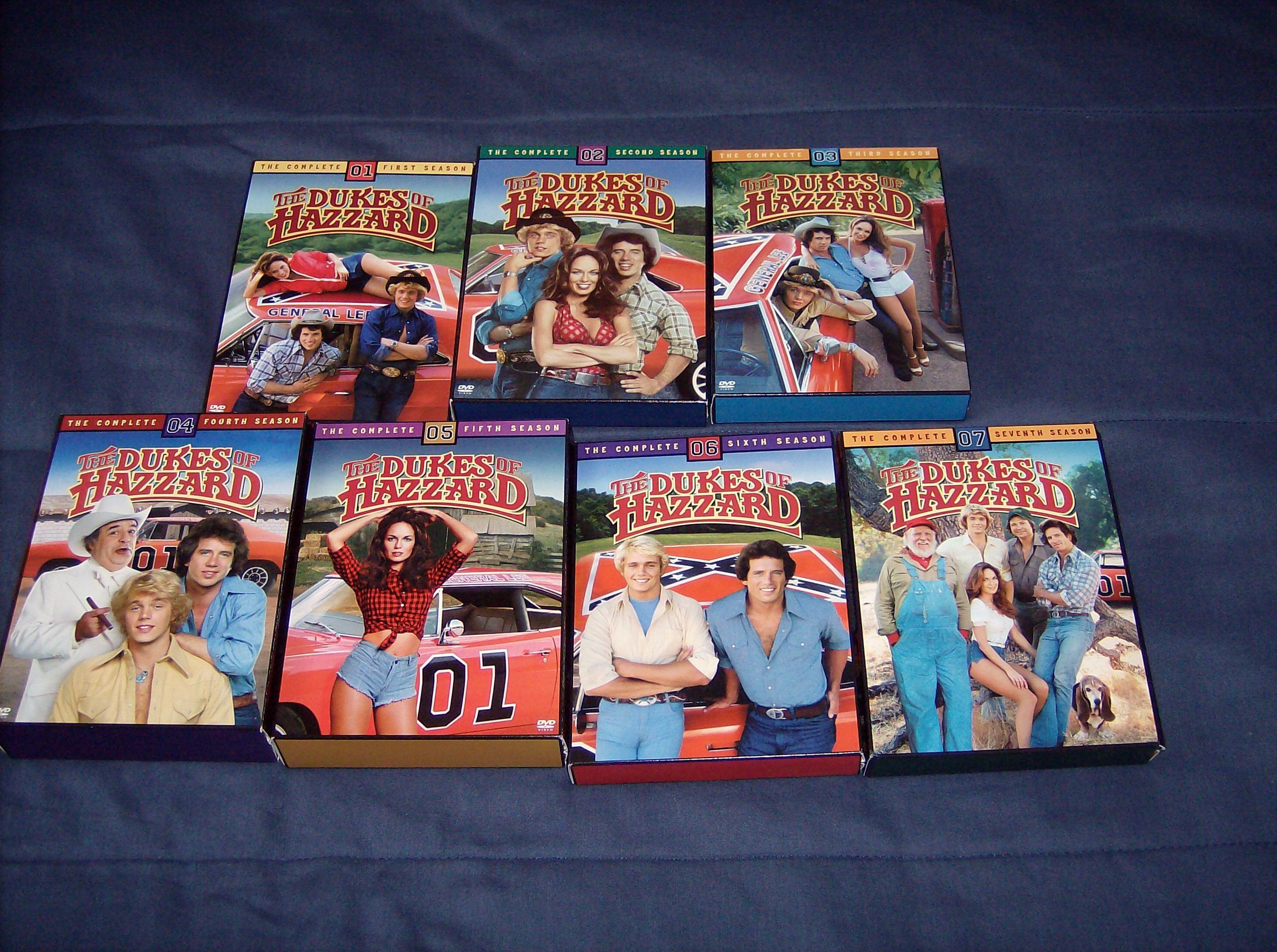 dukes of hazzard dvd set