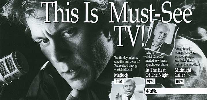Matlock tv guide ad andy griffith joe penny will conrad | ebay.