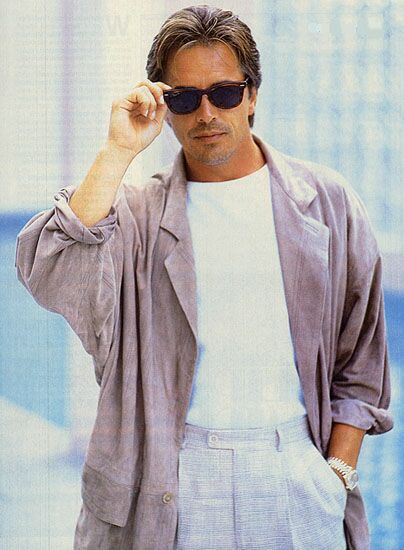 I'm Don Johnson ... and you're not.