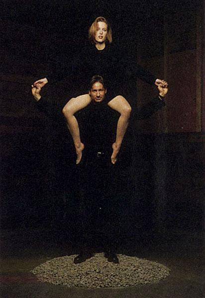 David Duchovny and Gil...