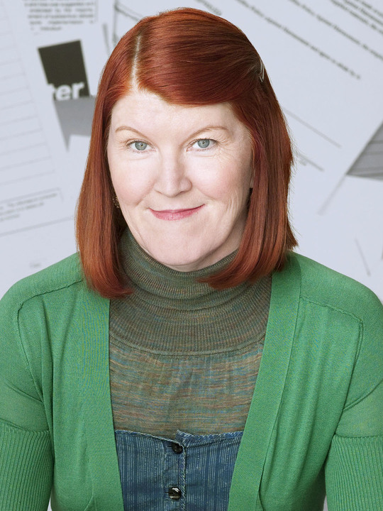 kate flannery face