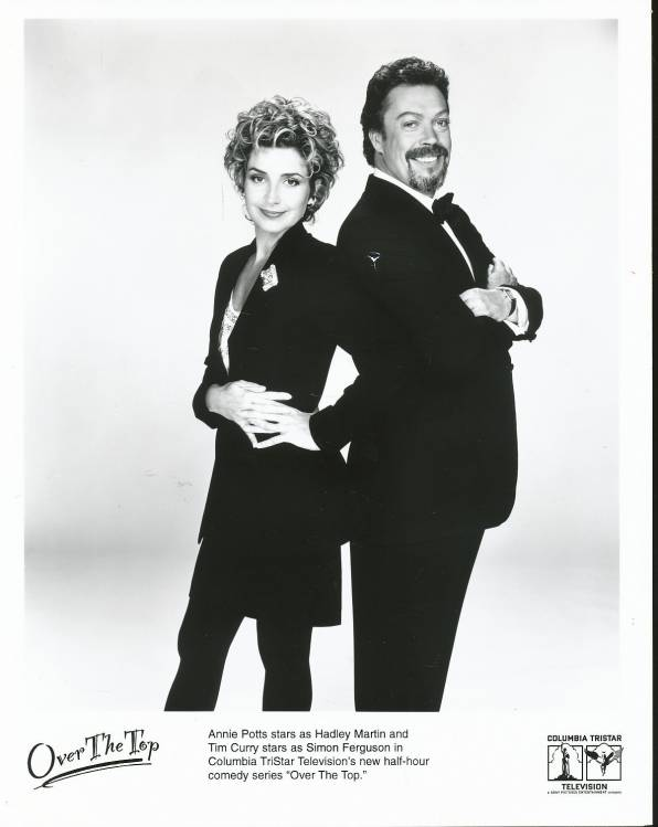 Tim Curry and Annie Potts
