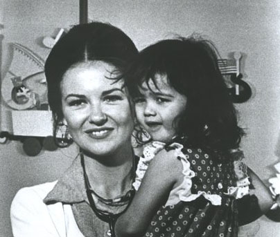 Little People Brian Keith Show Shelley Fabares And Kid
