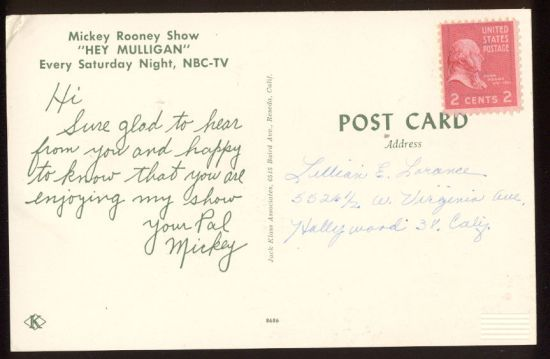 14549mickeyrooney-backpostcard