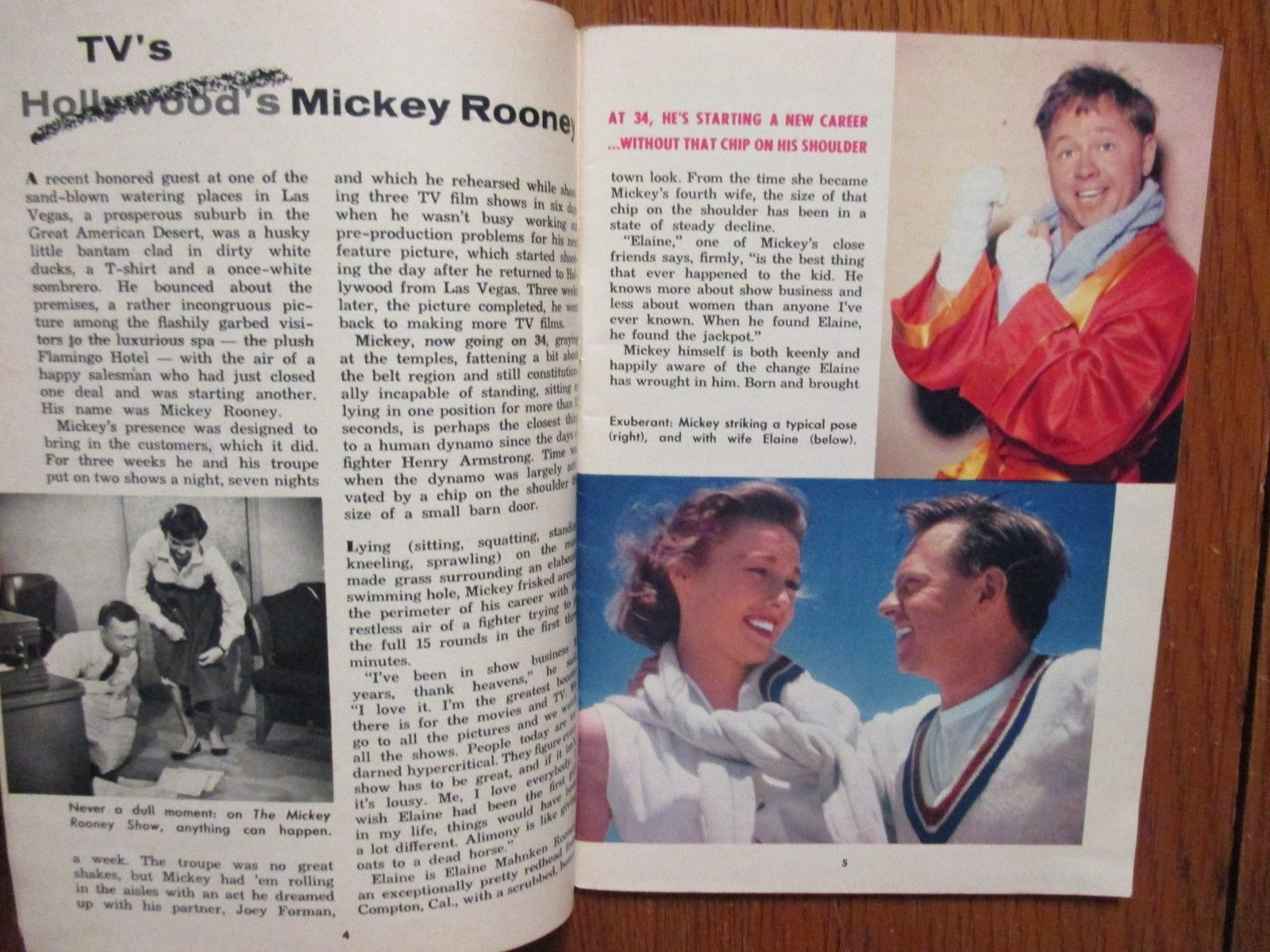 1954_ILLINOIS_TV_GUIDE_DOROTHY_ABBOTT_MICKEY_ROONEY_BETTY_ANN_GROVE_MERV_GRIFFIN