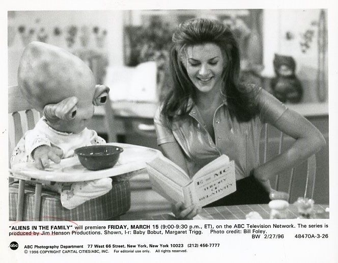 MARGARET_TRIGG_SMILE_BABY_BOBUT_JIM_HENSON_ALIENS_IN_THE_FAMILY_96_ABC_TV_PHOTO