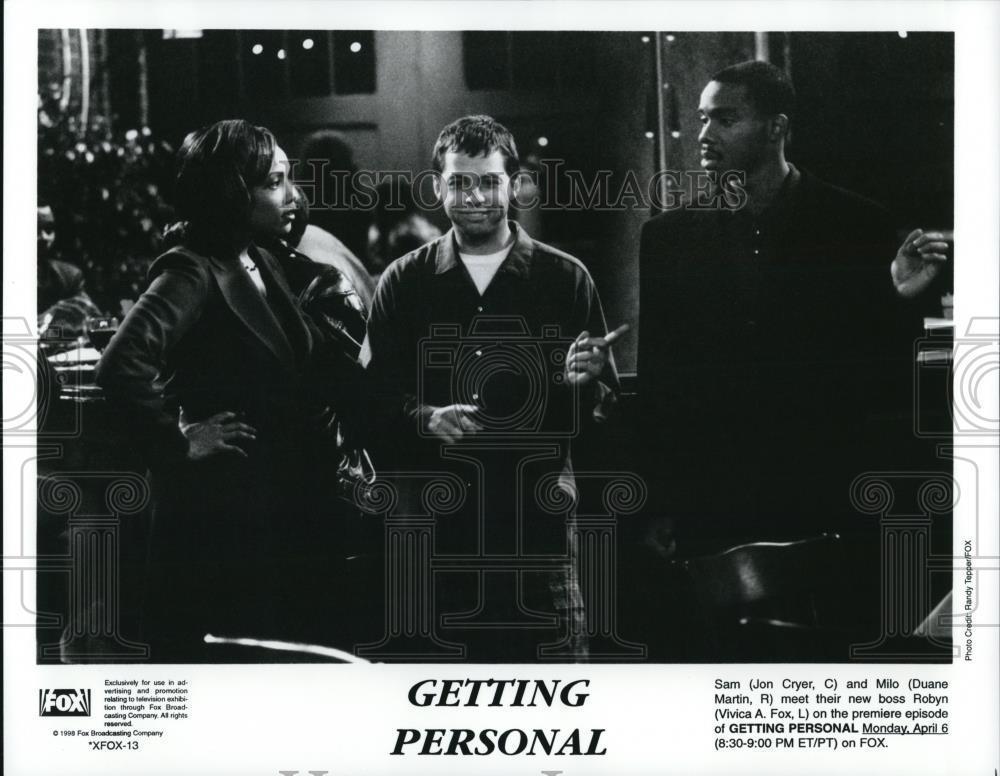 1998_Press_Photo_Jon_Cryer_Duane_Martin_and_Vivica_A_Fox_in_Getting_Personal
