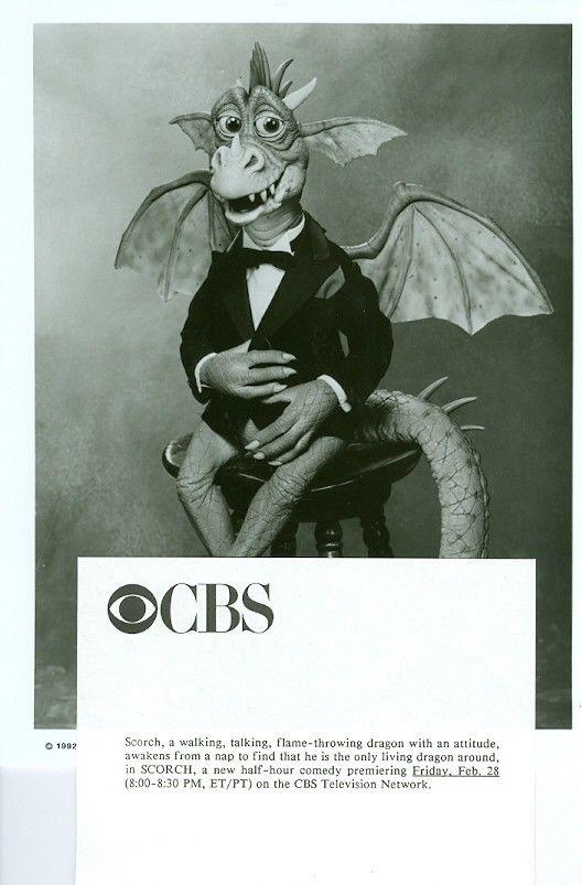 SCORCH_THE_DRAGON_PORTRAIT_ORIGINAL_1992_CBS_TV_PHOTO