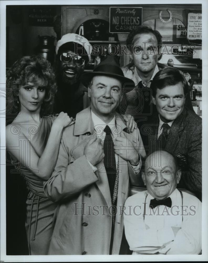 1983_Press_Photo_Tim_Conway_Shera_Danese_cast_of_Ace_Crawford_Private_Eye_