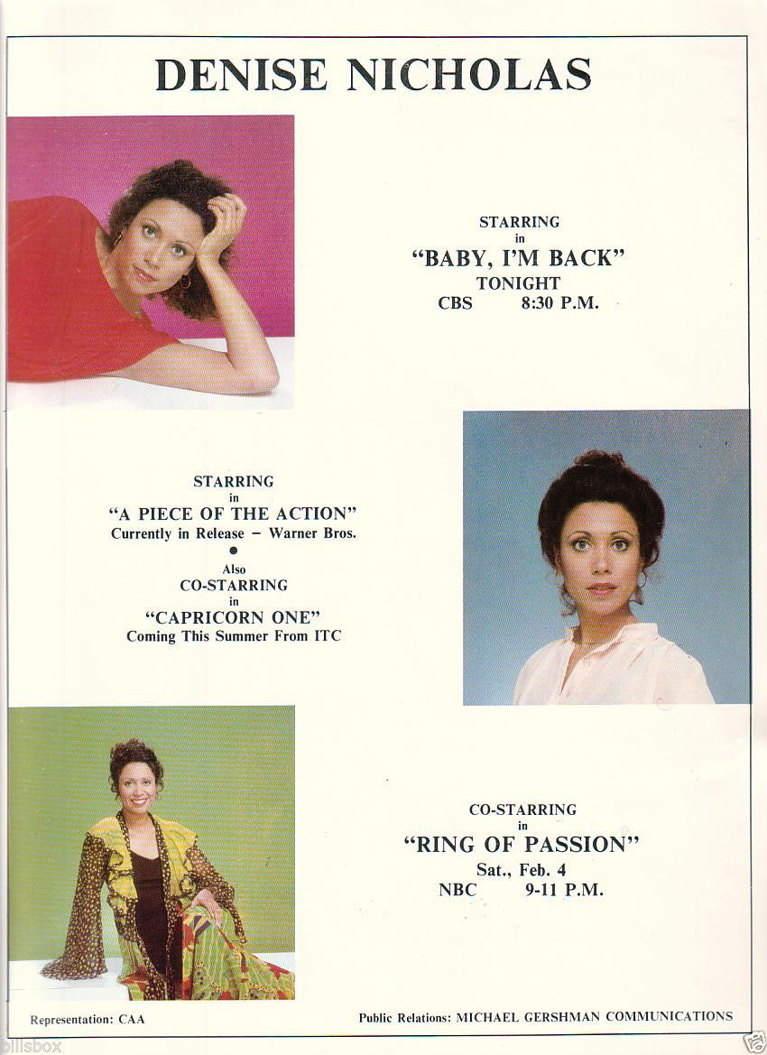 Denise_Nicholas_1978_Ad-_Baby_I_m_Back_CBS_Piece_Of_The_Action_Capricorn_One_ITC_57