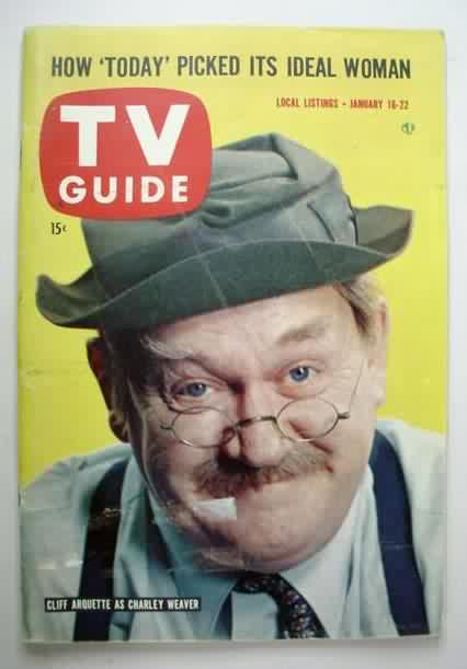 Cliff Arquette Cliff Arquette on the cover of