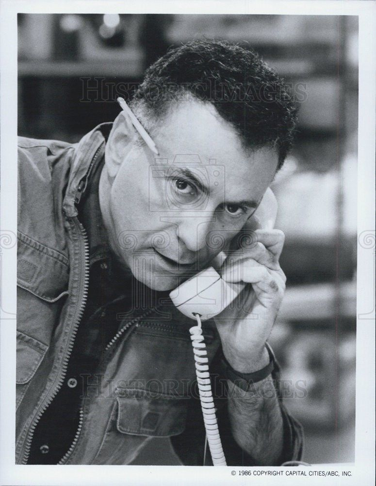 1986_Press_Photo_Alan_Arkin_Actor_Harry_Comedy_Television_Series_Sitcom