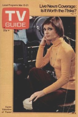 Karen   Karen Valentine   TV Guide Cover