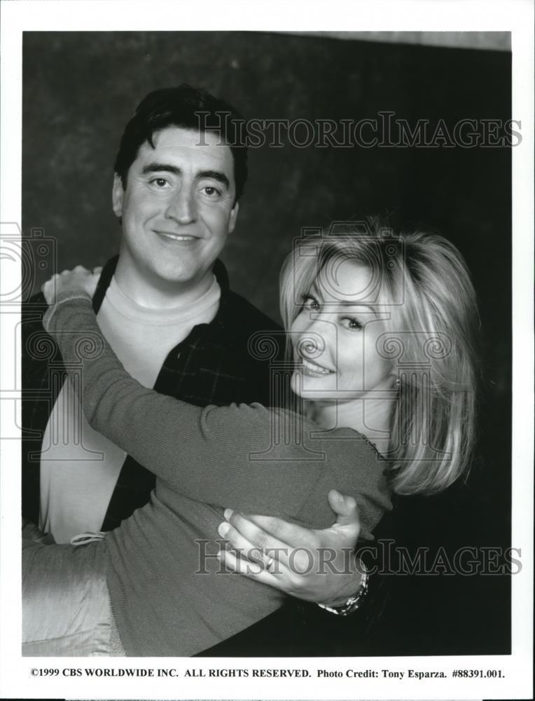 1999_Press_Photo_Alfred_Molina_and_Sharon_Lawrence_star_in_Ladies_Man