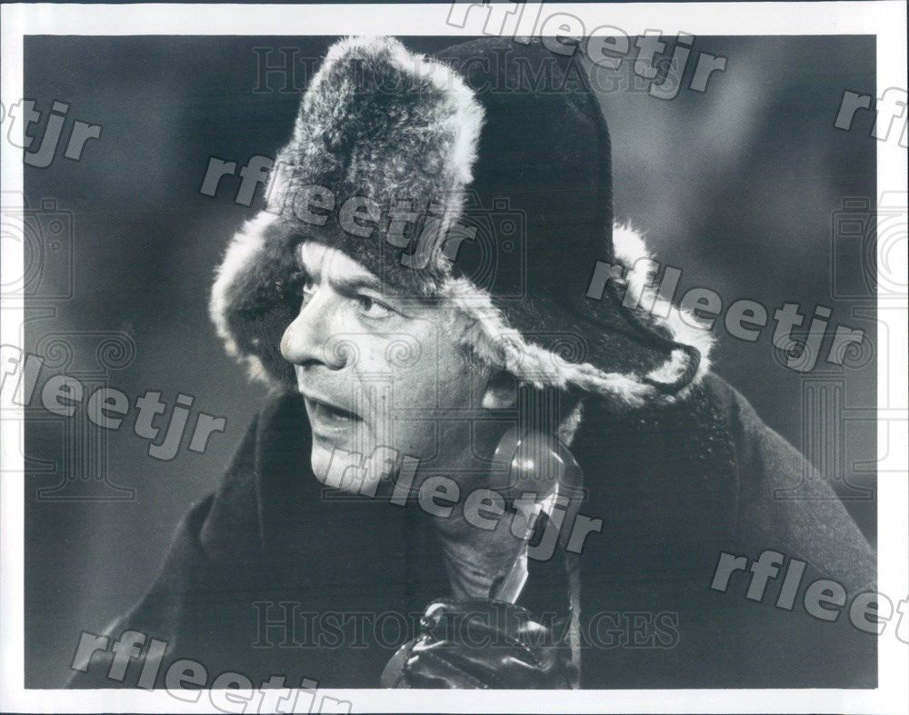 1985_Actor_Dick_Shawn_on_TV_Show_Hail_to_the_Chief_Press_Photo_adw523