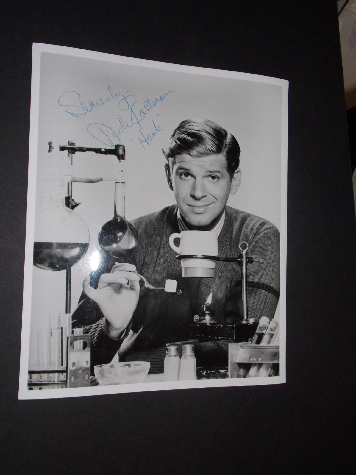 DICK_KALLMAN_SIGNED_VINTAGE_8X10_PORTRAIT_PHOTO_BATMAN_S_LITTLE_LOUIE_GROOVY