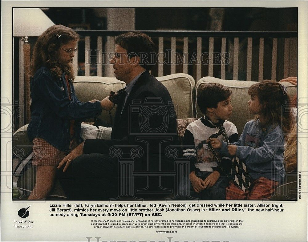 s-l1600Press_Photo_Faryn_Einhorn_Kevin_Nealon_Jill_Berard_