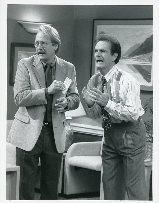 MARTIN_MULL_RICHARD_KLINE_HIS_AND_HERS_ORIGINAL_1990_CBS_TV_PHOTO