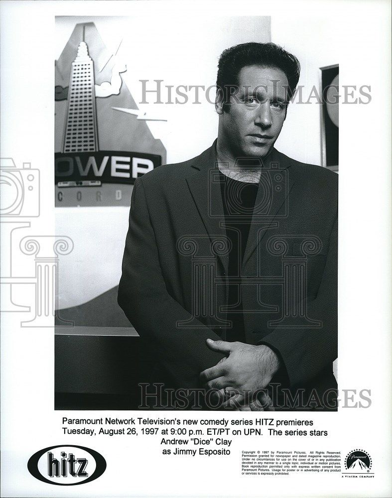 1997_Press_Photo_Actor_Comedian_Andrew_Dice_Clay_On_Hitz