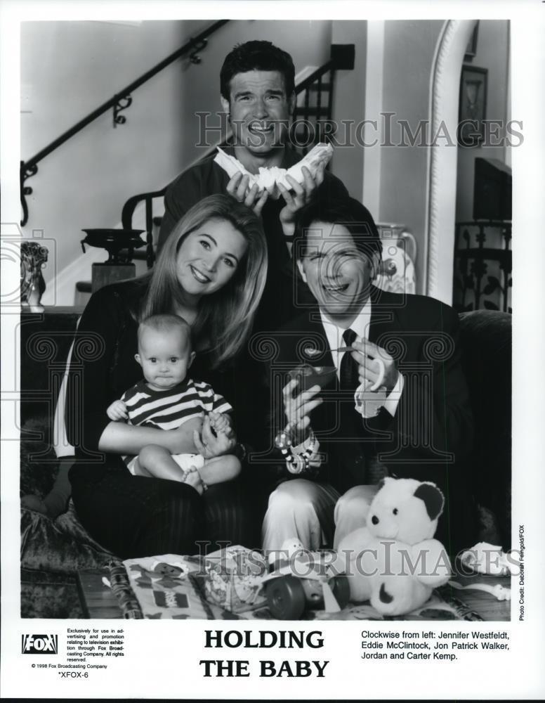 1998_Press_Photo_Jennifer_Westfeldt_Jordan_Carter_Kemp_in_Holding_The_Baby