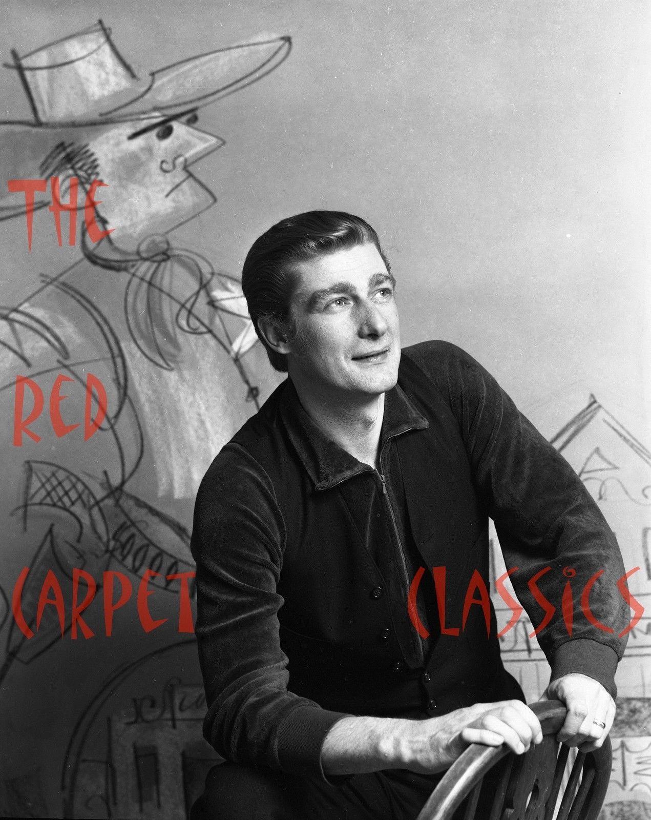 Classic_1966_Richard_Mulligan_THE_HERO_-_4x5_Film_Negative