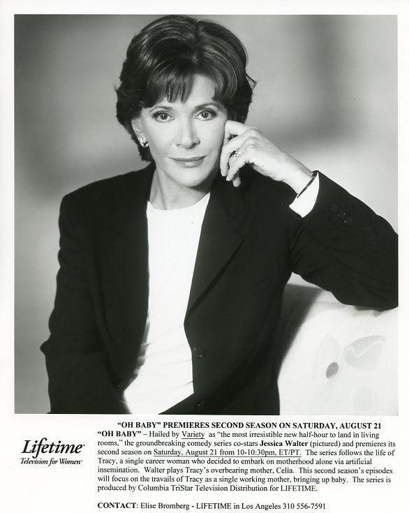 JESSICA_WALTER_SMILING_PORTRAIT_OH_BABY_ORIGINAL_1995_LIFETIME_TV_PHOTO
