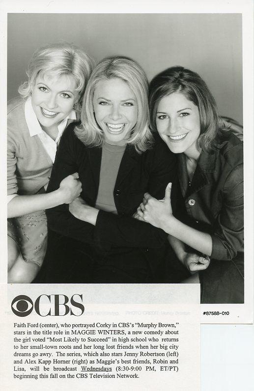 FAITH_FORD_JENNY_ROBERTSON_ALEX_KAPP_HORNER_MAGGIE_WINTERS_1998_CBS_TV_PHOTO
