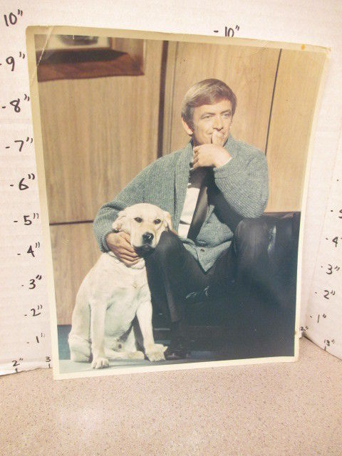 s-l1600ABC_TV_studio_show_promo_photo_1969_MR_DEEDS_GOES_TO_TOWN_Monte_Markham_dog