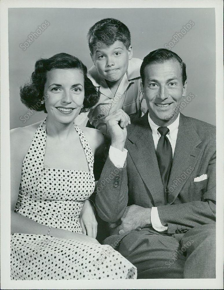 H9_1953_My_Son_Jeep_Actors_Jeffrey_Lynn_Martin_Huston_Anne_Sargent_Photo