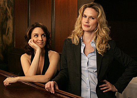 30 Rock: Tina Fey and Stephanie March - Sitcoms Online Photo