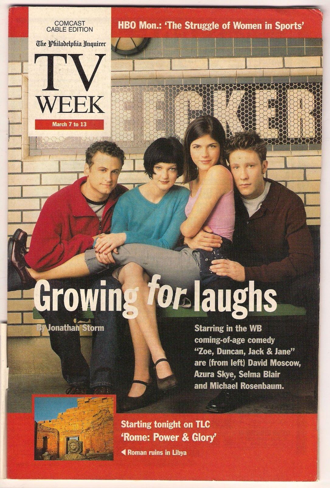 Local_TV_Guide_Zoe_Duncan_Jack_Jane_Cast_1999_Philadelphia_Inquirer